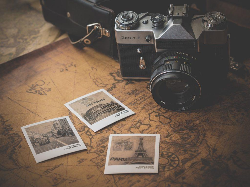 旅に持ってきたカメラと写真