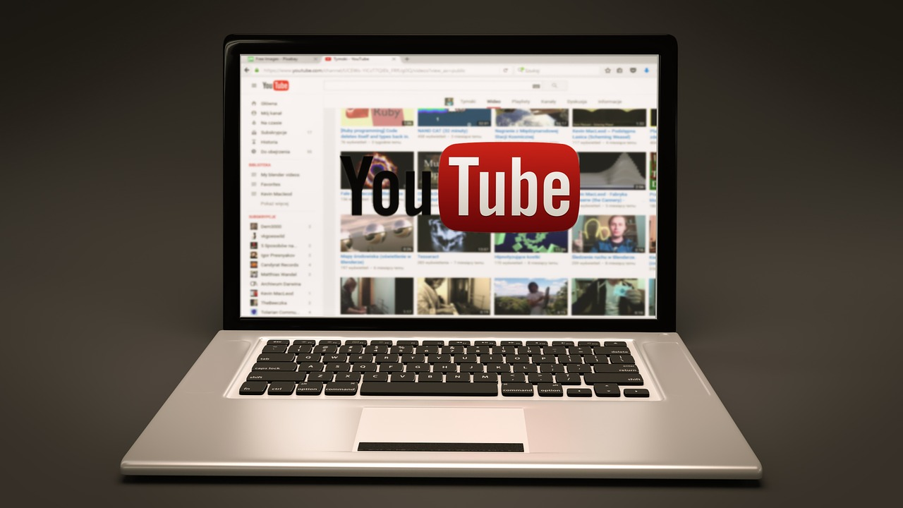 YouTube パソコン画面