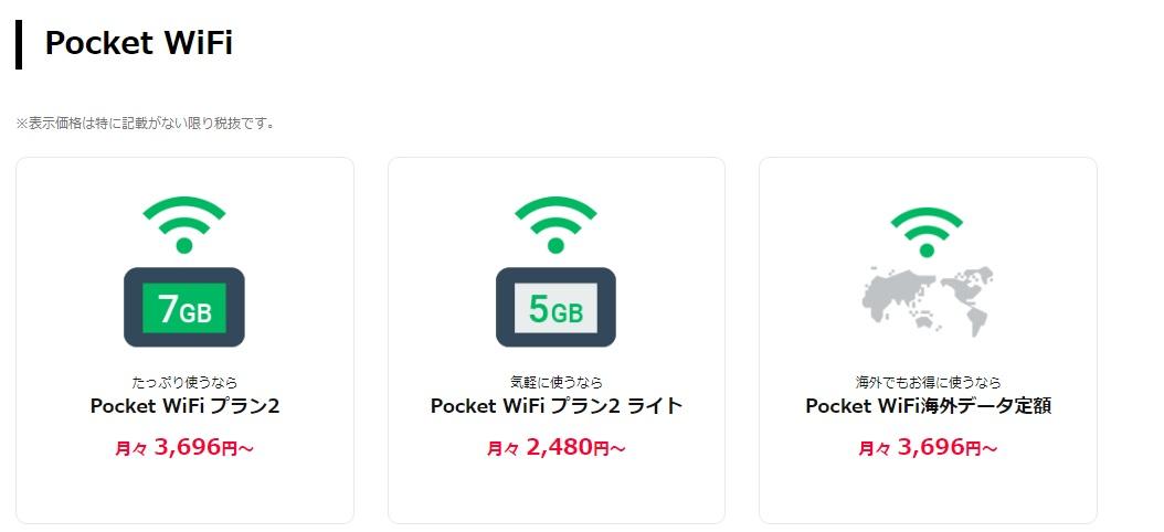 ワイモバイル 料金プラン内訳
