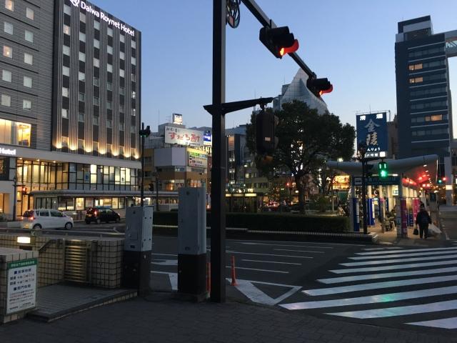 徳島駅 夜のイメージ画像